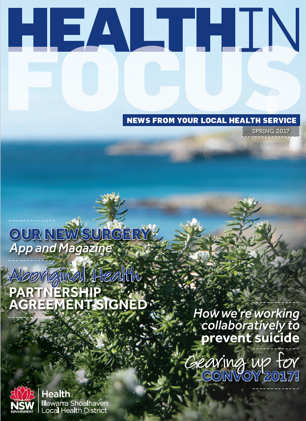 Cover of Health in Focus Spring 2017