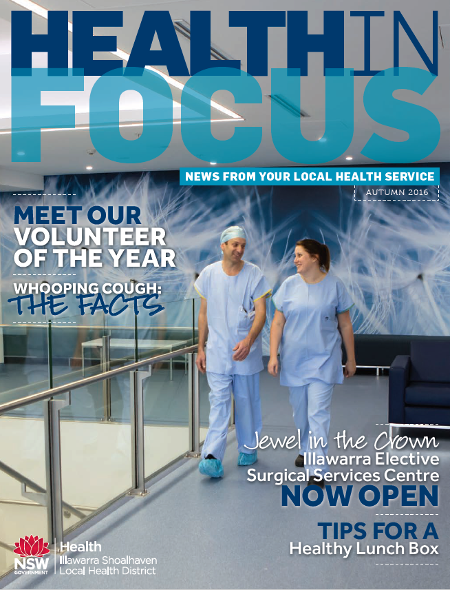 Cover of Health in Focus Autumn 2016