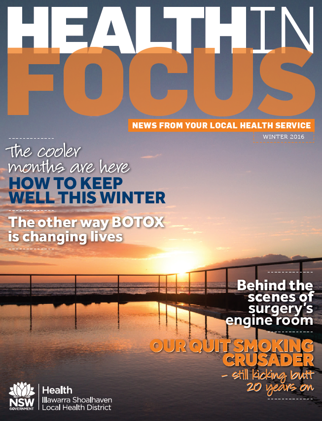 Cover of Health in Focus Winter 2016