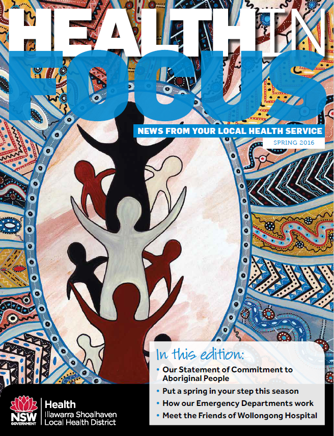 Cover of Health in Focus Spring 2016