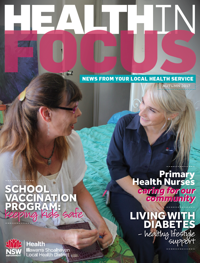 Cover of Health in Focus Autumn 2017
