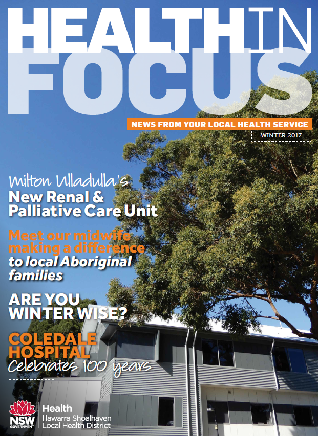 Cover of Health in Focus Winter 2017