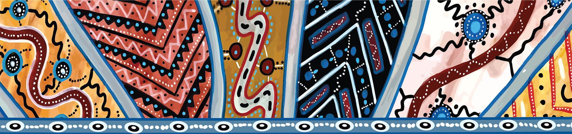 Aboriginal artwork by Cecily Carpenter-Wellington