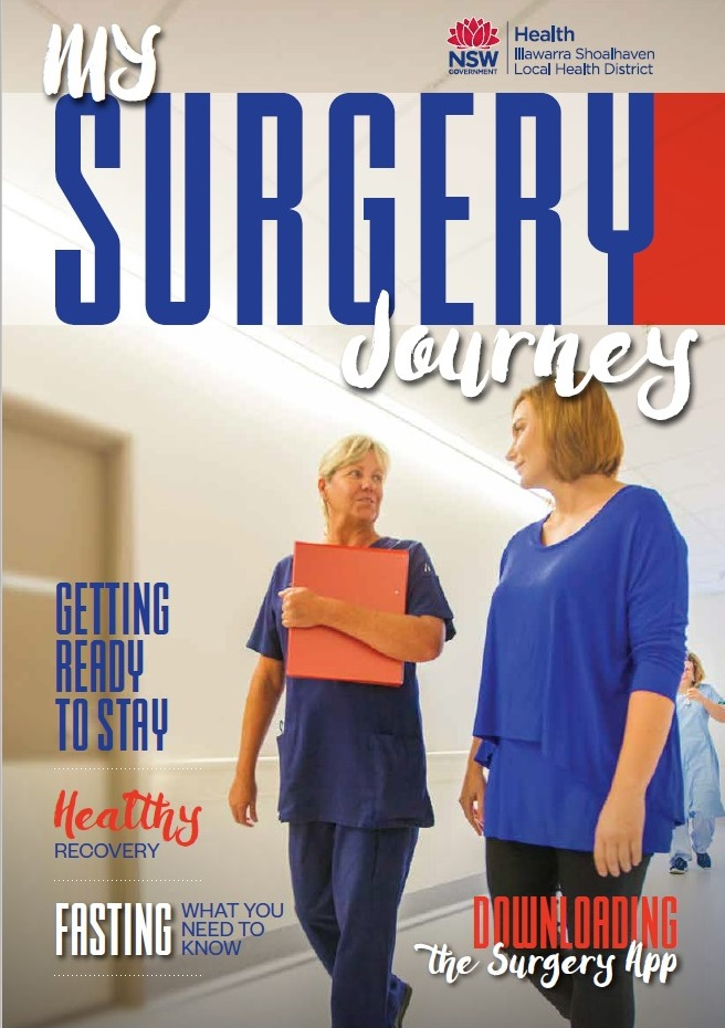 My Surgery Journey magazine cover