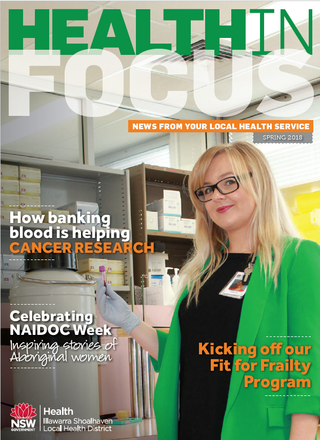 Health in Focus cover Spring 2018