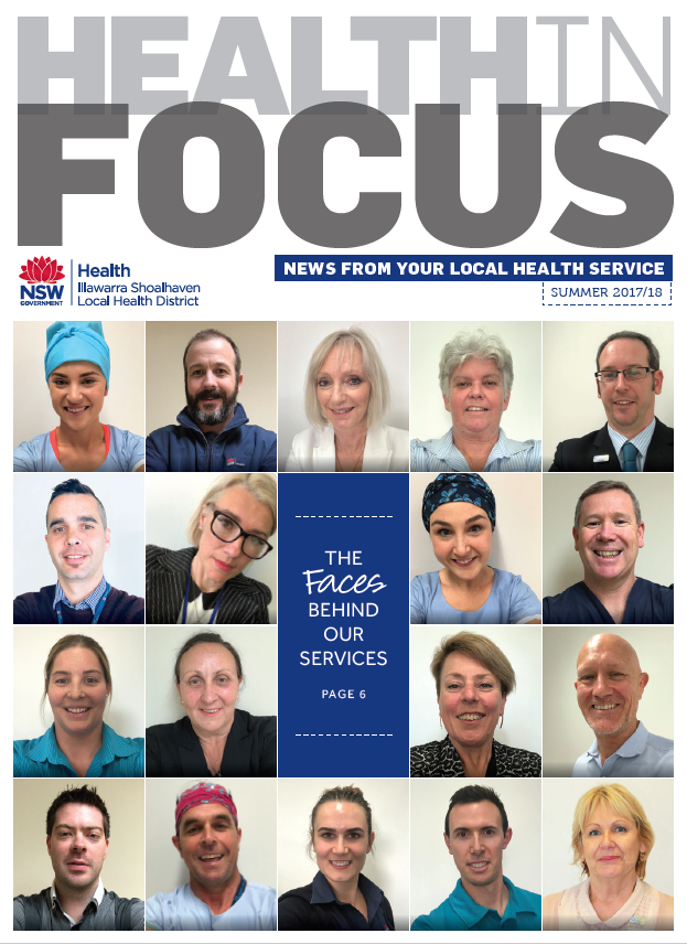 Cover of Health in Focus Summer 2017 2018