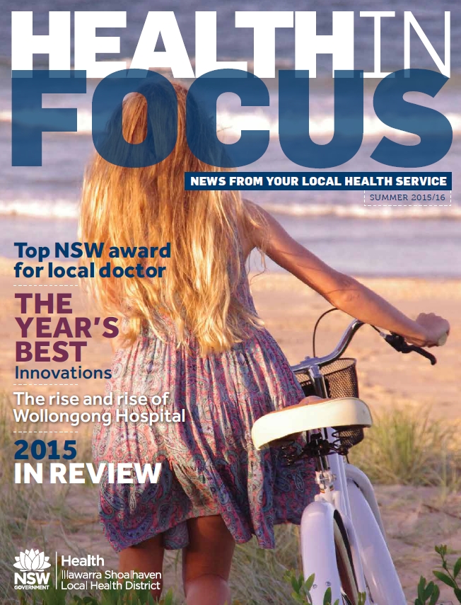 Cover of Health in Focus 2015 2016