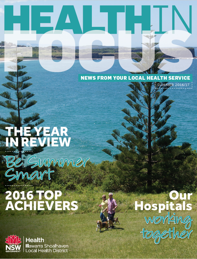 Cover of Health in Focus Summer 2016 2017
