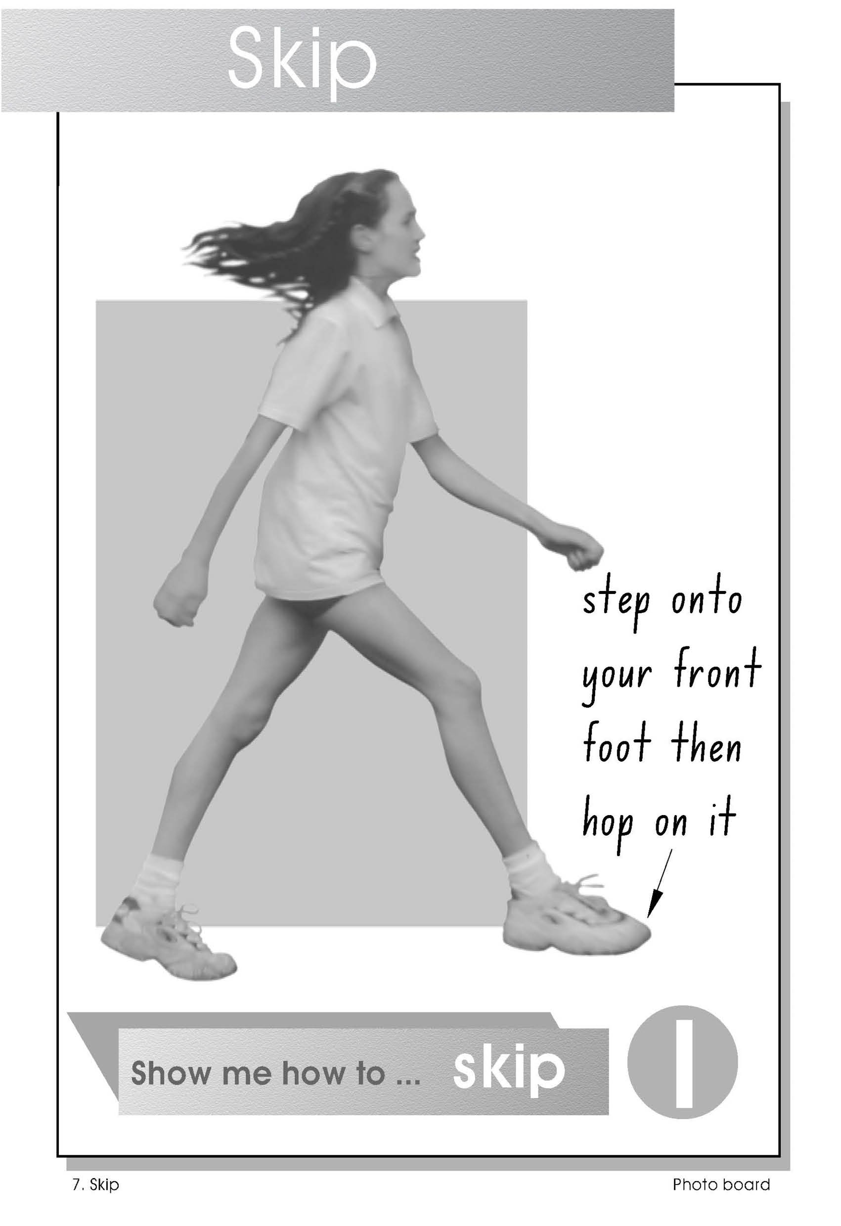 Observational poster - how to skip