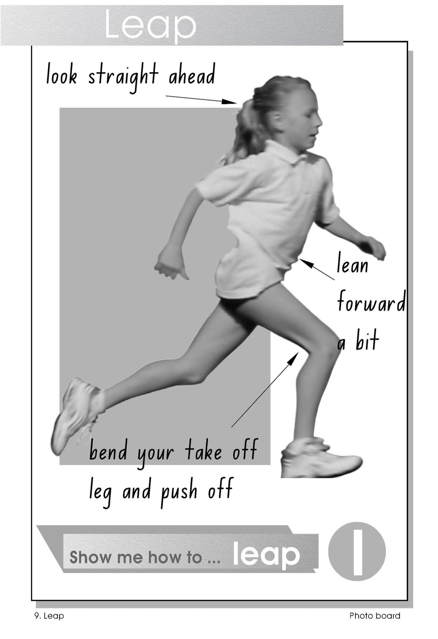 Observational poster - how to leap
