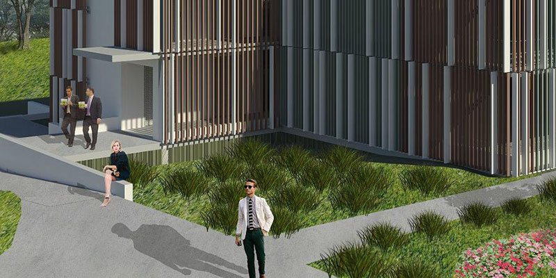 Artist impression of Shoalhaven Hospital Car Park Project