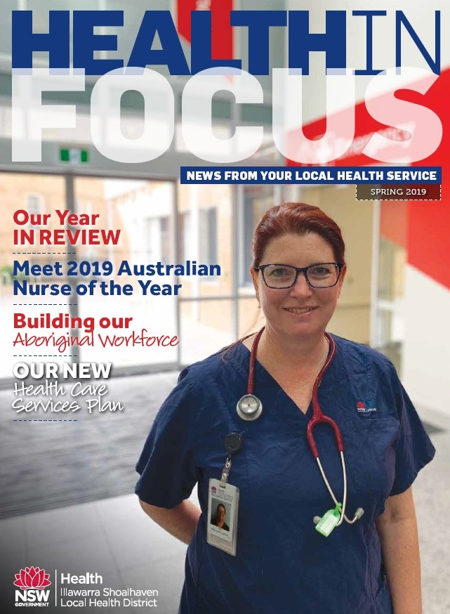 Health in Focus cover Spring 2019