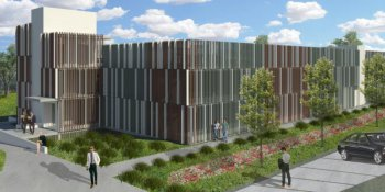 Artist's impression of the new shoalhaven hospital car park