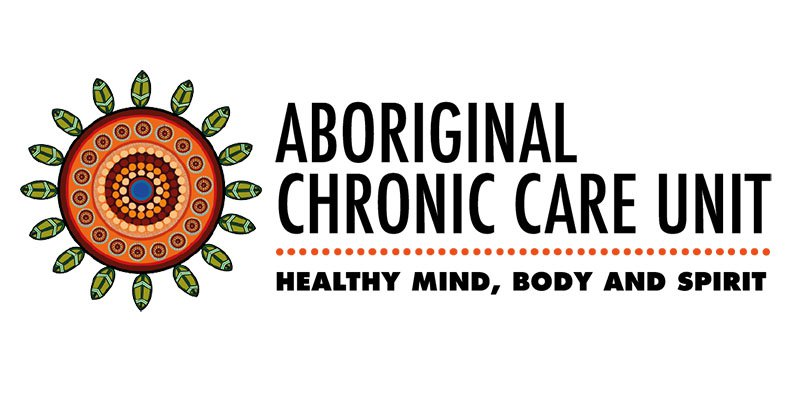 Aboriginal Chronic Care Unit logo - Healthy mind, body and spirit