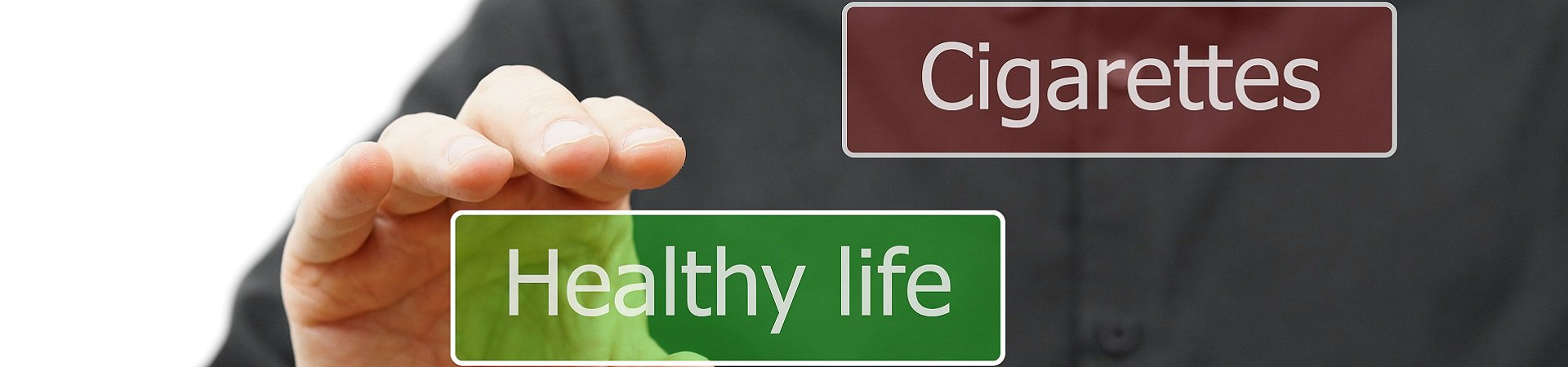 Choosing healthy life graphic